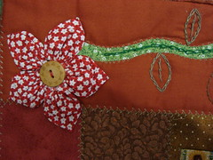 """DSC04611 (""""Feltro Flor"""") Tags: quilt patchwork bolsa bolsas aula molde tecido bordado costura necessaire"""