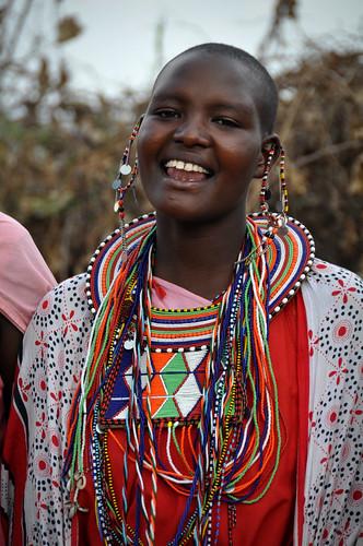 MasaiWomanSinging