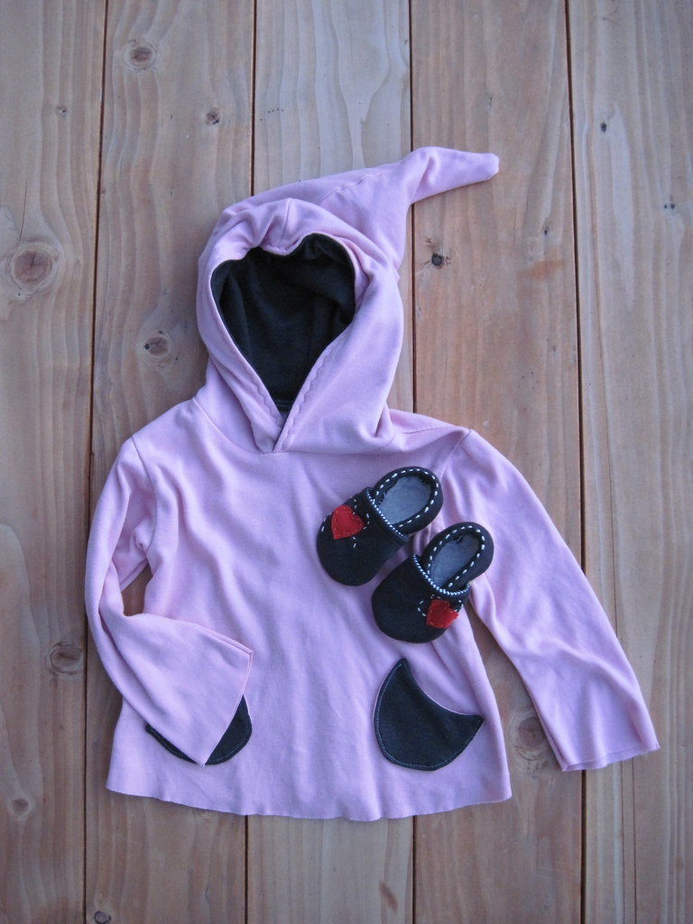 Hoodie For B., Booties For Baby Sib