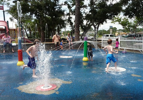 Navarre Park Splashpad