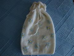 Drawstring bag (Avapi) Tags: knitted drawstring