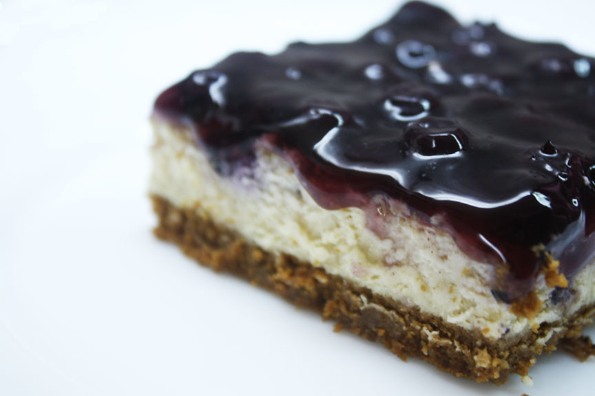 Studded Blueberry Cheesecake Bars | Sweet Tooth