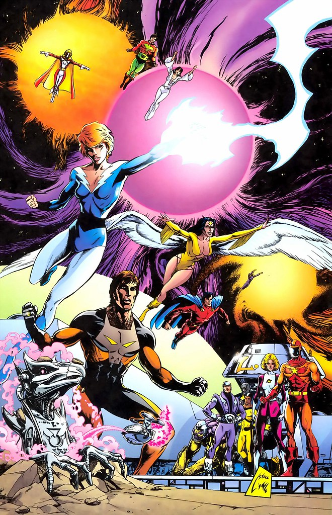 Legion of Super-Heroes by Steve Lightle