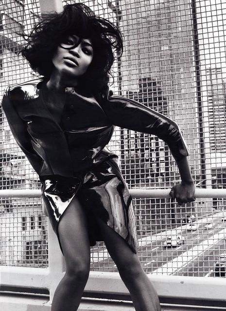 Naomi by Mario Sorrenti for V Magazine