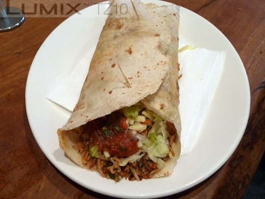 La Cantina - Chicken burrito