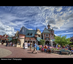Disneyland Paris (Euro Disney) (#13) (Osterman I.) Tags: city trip sky nature colors beauty clouds digital landscape europe processing scape hdr photomatix colorphotoaward