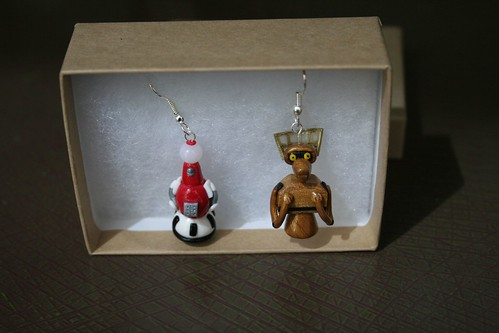 awesome MST2k earrings!