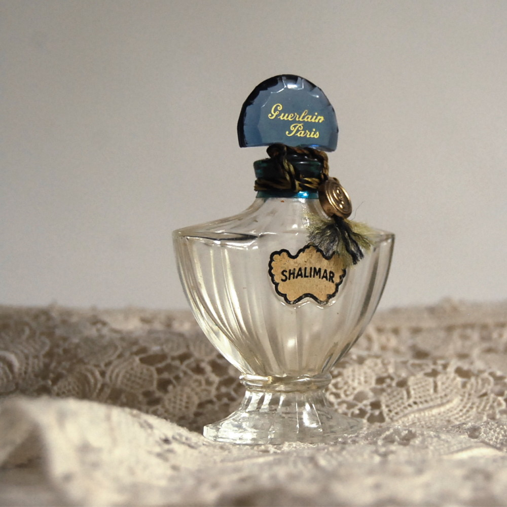 Vintage Shalimar Guerlain Perfume Bottle