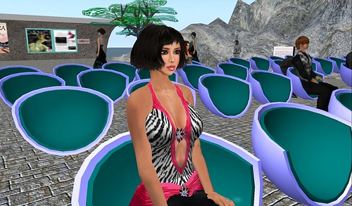 raftwet jewell at ballet pixelle performance of AVATARA