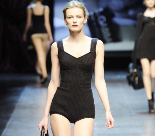 Dolce & Gabbana FW2010 wool underwear 2