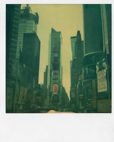 Times Square Polaroid