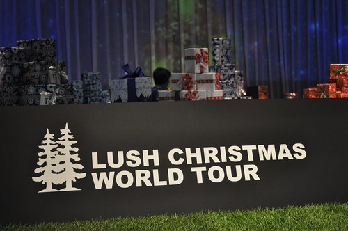 LUSH CHRISTMAS WORLD TOUR
