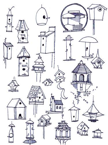bird houses on dunleith