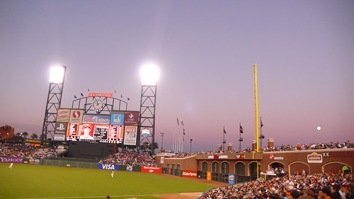 Stadium at Sunset