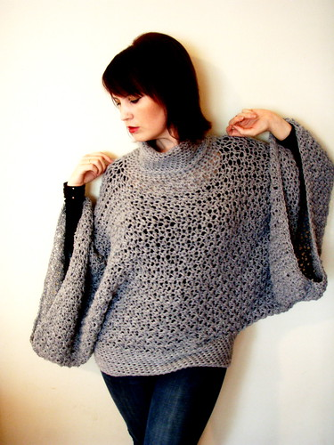 softspoken poncho sweater - winter 2010/2011