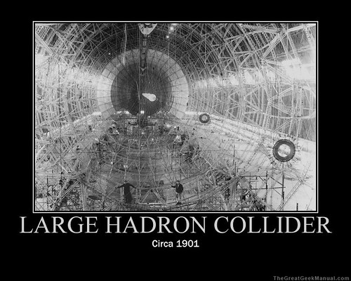 Motivational Poster: Hadron Collider