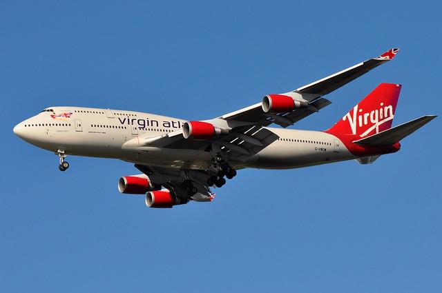 Virgin Atlantic Airways - Boeing 747-400 - G-VWOW - Cosmic Girl (Dita Von Teese) - John F. Kennedy International Airport (JFK) - August 27, 2010 1 358 RT CRP by TVL1970
