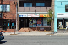 3102 Danforth Ave - August 28, 2010 (collations) Tags: toronto ontario architecture documentary vernacular streetscapes builtenvironment cornerstores conveniencestores urbanfabric varietystores