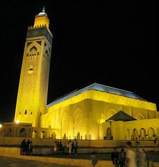 La Gran Mezquita de Casablanca, Marruecos (Morocco)