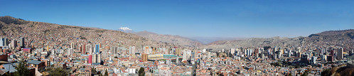 La Paz panoramic