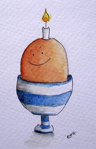 Eggy birthday
