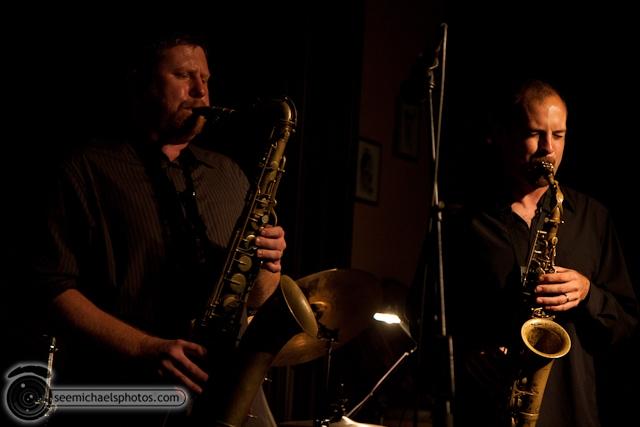 Joshua White Quartet at Dizzys 82610 © Michael Klayman-018
