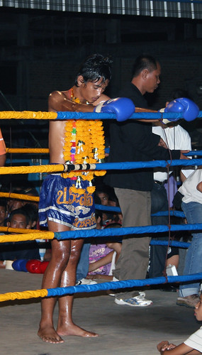 Phillip's Opposition Muay Thai Fight Thailand