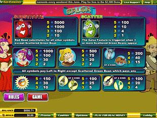 free Salsa slot mini symbol