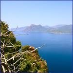 La côte du coté de Piana - Corse
