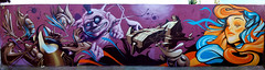 the whole wall (mrzero) Tags: wall graffiti 3d hungary character eger spraypaint jam cfs hepi mrzero ironlak coloredeffects fatheat obieone stylefest