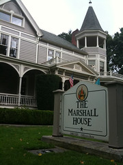 The Marshall House on Officers Row in Vancouver Washington