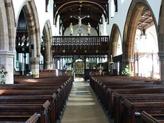 St Mary - Higham Ferrers church interior