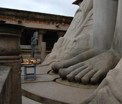 Feet of the Lord (rakeshrach) Tags: india karnataka bahubali jainism shravanabelagola gomateshwara