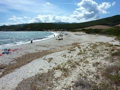 La plage de Tamarone
