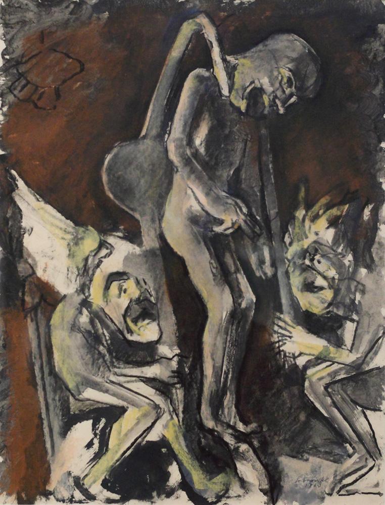 Gerhart Frankl, Die Erhängung des Judas [The Hanging of Judas], 1963