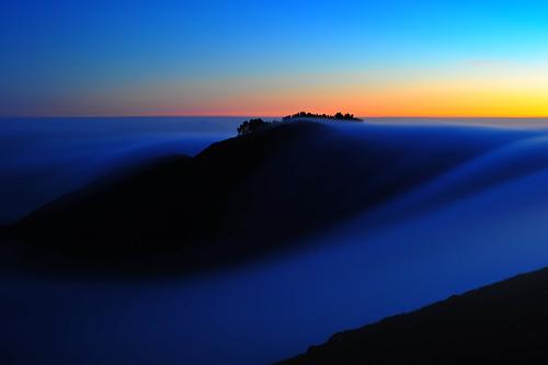 フリー写真素材, 自然・風景, 山, 霧・霞, 朝日・朝焼け・日の出, アメリカ合衆国,