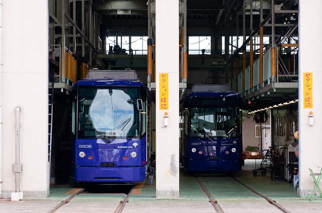 東京都交通局都電荒川線8800形 8806・8807