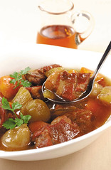 Savory Stew with Maple Syrup