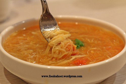 Vermicelli with Crab Roe