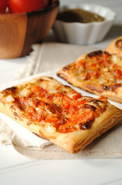 Blue Cheese and Tomato Tart