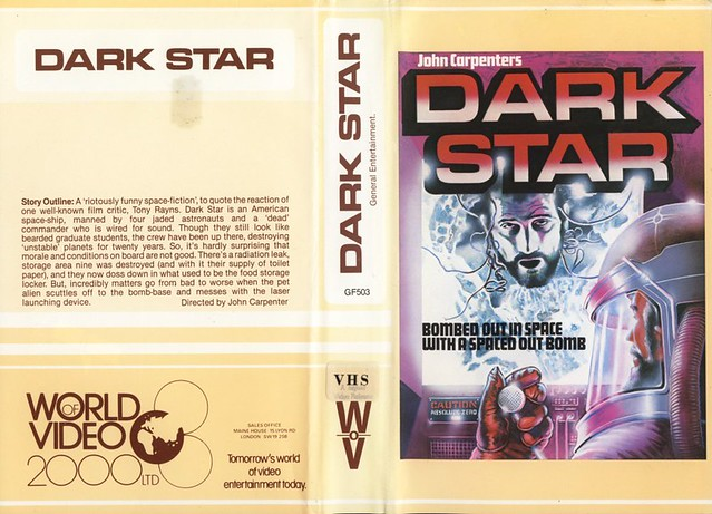 Dark Star (VHS Box Art)