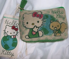 Loungefly Hello Kitty Earth Coin Purse