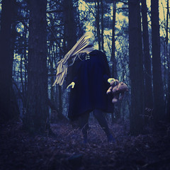 nightmares and sleeping fits (brookeshaden) Tags: bear forest woods sac workshop cloak brookeshaden