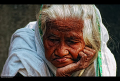 Kolkata Streets (C. Dastodd) Tags: woman india widow kolkata calcutta bengali westbengal