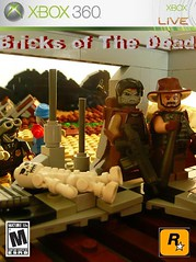 Bricks of the dead contest entry. (Lego Junkie.) Tags: photoshop dead lego zombie bricks apocalypse challenge adaptation the of apocalego