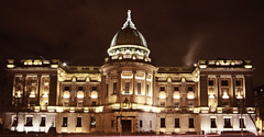 Mitchell Library a (Paddy McDougall) Tags: longexposure night canon scotland glasgow sigma 7d 1020 mitchelllibuary