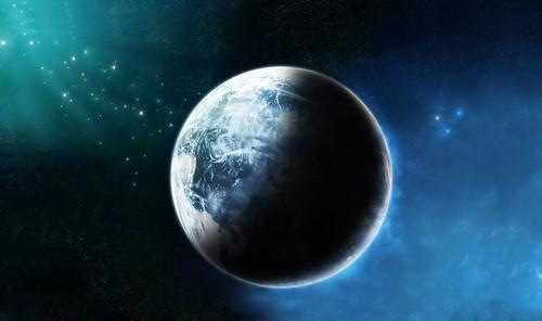 [フリー画像] グラフィックス, CG, 地球, 201103310100