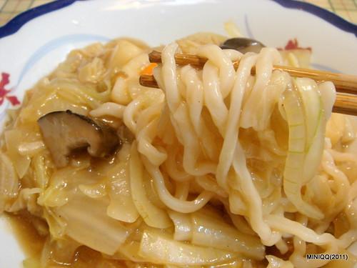 20110212 白菜素燴麵
