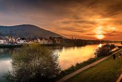 Heidelberg (Michele Naro) Tags: heidelberg sunset badenwürttemberg rheinneckargebiet deutschland d80 germany germania romantik samyang14mmf28 allemagne