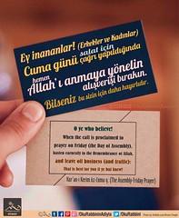 Happy Fridays (Oku Rabbinin Adiyla) Tags: allah kuran quran islam ibadet cuma jumua friday salat namaz pray prayer tevhid god religion islamic